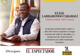 Elías Larrahondo Carabalí, nominado como Afrocolombiano del Año Sector Público