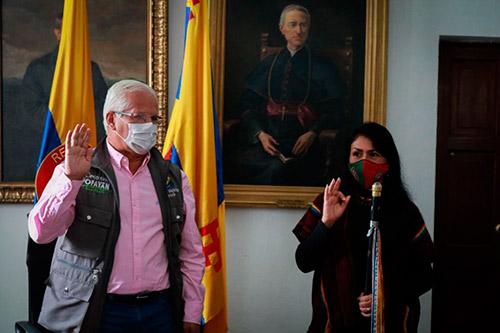 11 mujeres encabezan el nuevo Cabildo Indígena Yanacona de Popayán