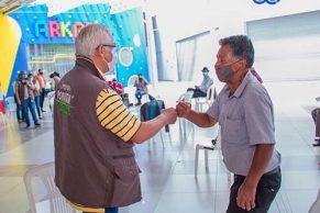 Habitantes de la Comuna 2 visitaron la Feria de Servicios Creo en Popayán