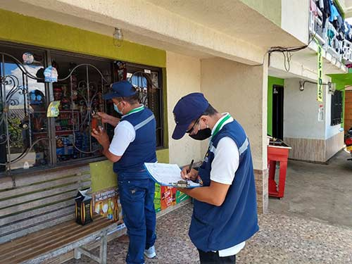Gobierno Departamental llegó hasta La Sierra y Cajibío para realizar visitas de fiscalización a distribuidores de licores, cervezas y cigarrillos