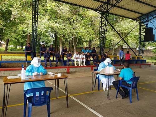Secretaría de Salud Municipal llega con la Estrategia PRASS al Instituto de Formación Toribio Maya