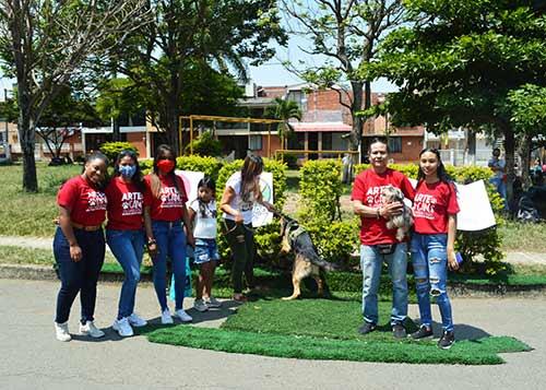 FESTIVAL CANINO DE DISFRACES EN QUILICHAO