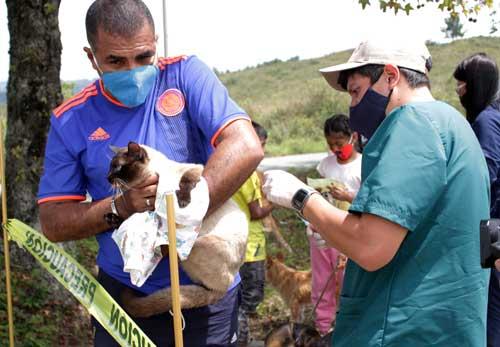 Simbólicamente se celebró los avances del Refugio Animal de Popayán