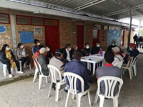Administración Municipal avanza diálogos con líderes de La Yunga