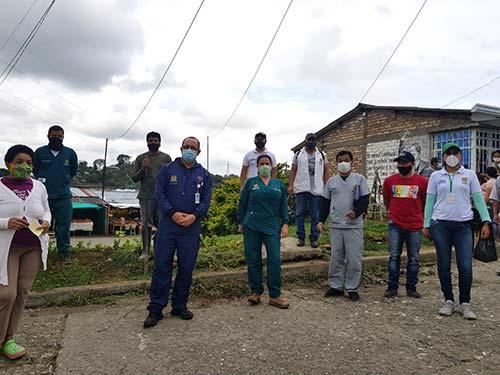 Secretaría de Salud Municipal continúa realizando acciones contra la propagación del Covid 19