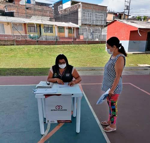 Ciudadanos resolvieron dudas sobre el proceso estratificación en Popayán