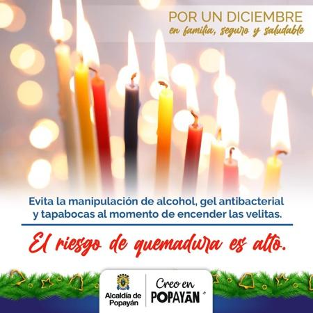 Activan comité para prevenir lesionados por pólvora en Popayán