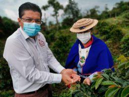 Caficultoras de Pitayo se benefician con 200 mil árboles de café