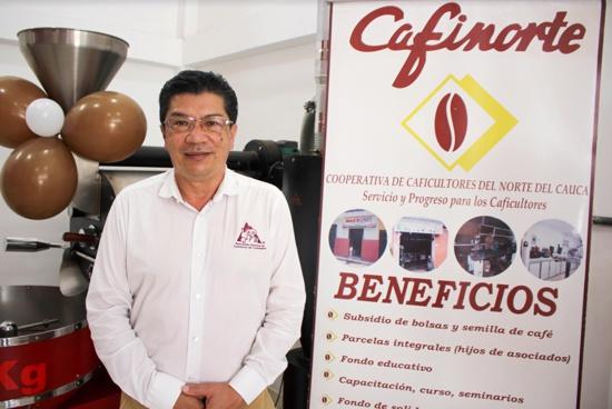 Gerardo Montenegro, director ejecutivo del Comité de Cafeteros del Cauca