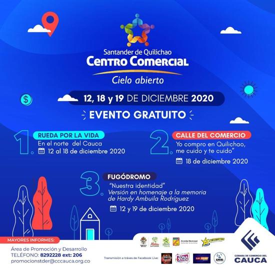 Centro Comercial a Cielo Abierto en Santander de Quilichao