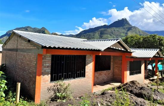 Construcción de viviendas en zonas dispersas - Corporación Nasa Kiwe