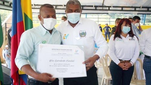 Gobernador Larrahondo Carabalí y alcalde Ronald Villegas