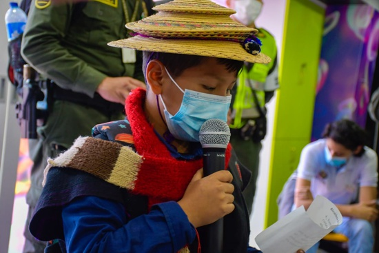 Estrategia de protección de la infancia y la adolescencia se lanzó en Popayán
