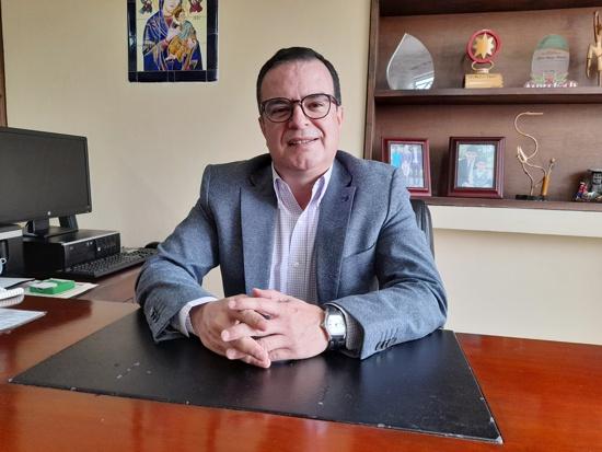 Jhon Diego Parra, director general de la Corporación Nasa Kiwe