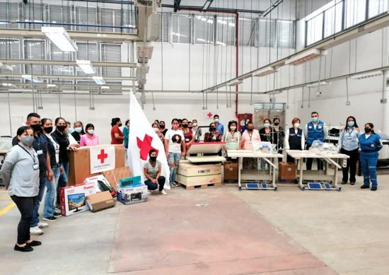 Materiales e insumos para el centro textil de Popayán