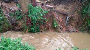 Oficina de Gestión del Riesgo entrega evaluación de daños y necesidades por fuertes lluvias en Popayán