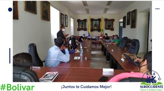 Proponen crear modelo de atención en salud propio en el suroccidente caucano - ESE Suroccidente - Alexander Sánchez Paz