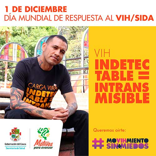 La lucha contra el VIH/SIDA también se da desde el Cauca