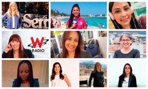Las diez periodistas de Colombia en el 2020