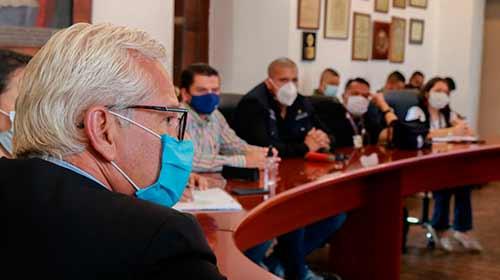 En diciembre seguiremos implementado medidas que garanticen la seguridad y convivencia de los ciudadanos, alcalde Juan Carlos López Castrillón