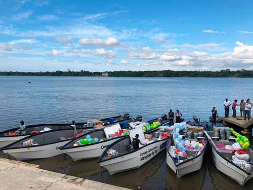 Gobierno Departamental fortalece procesos de pesca artesanal en la Costa Pacífica Caucana