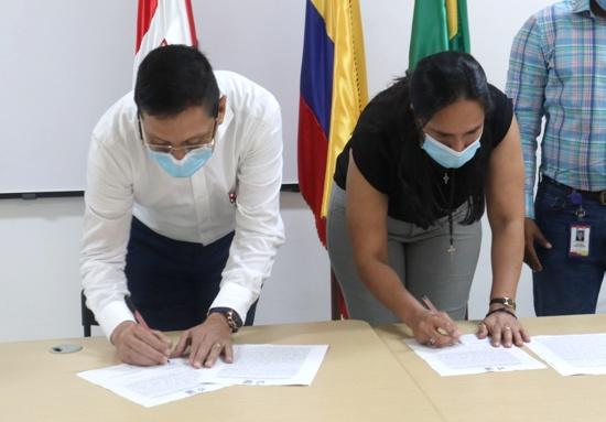 Alcaldía de Quilichao firmó acuerdo educativo con la Universidad del Valle