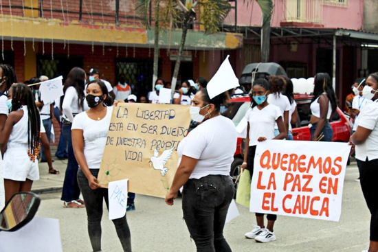 El clamor del norte del Cauca: ¡Libertad para Vizney Zapata!