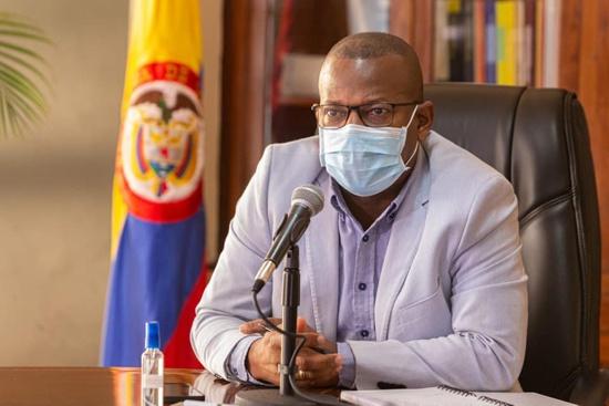 Elías Larrahondo Carabalí, gobernador del Cauca