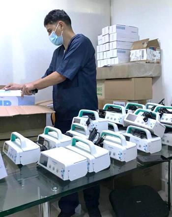 Equipos biomédicos para ampliar UCI y atender la pandemia en el Cauca