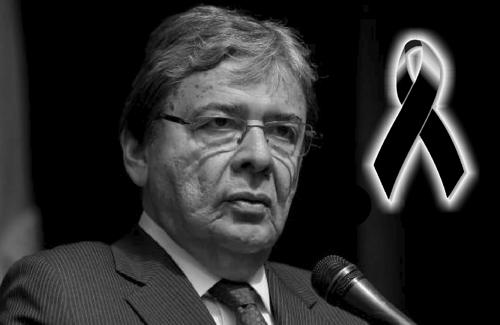 Falleció por Covid 19 el ministro de Defensa de Colombia, Carlos Holmes Trujillo