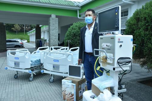 Hospital Susana López presta atención humanizada a pacientes con COVID-19