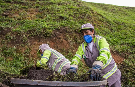Inician labores de mantenimiento en El Morro de Tulcán, en Popayán