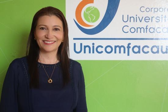 Isabel Ramírez Mejía, rectora de Unicomfacauca - Comfabecas