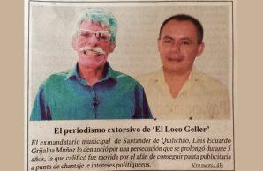 Los diarios de HSB en el Cauca mienten otra vez
