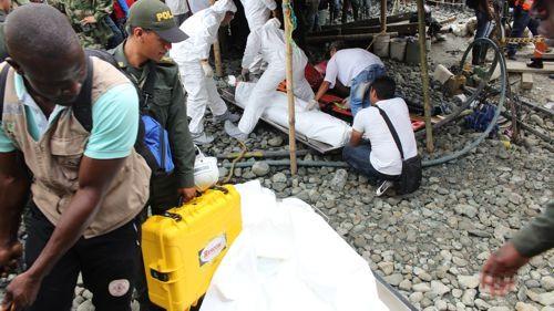 Minas ilegales de explotación de oro en Santander de Quilichao