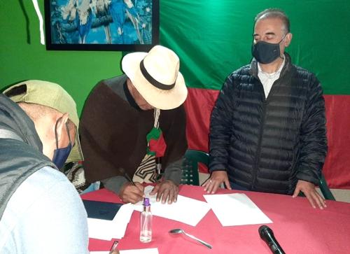 Por ahora no habrá más bloqueos en la vía Panamericana - Indígenas del Cauca y Gobierno logran acuerdo
