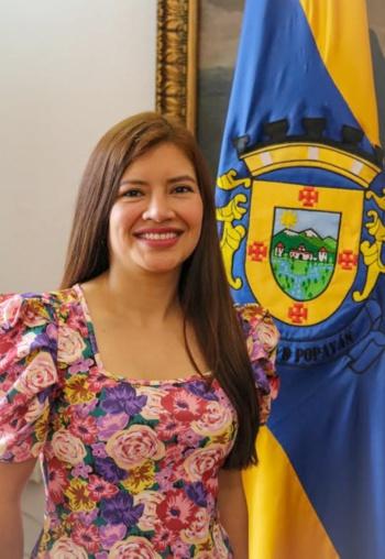 Se posesionó la nueva secretaria de la Mujer de Popayán, Mariana Bermúdez Astudillo