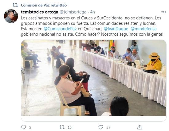 Twitter Temístocles Ortega