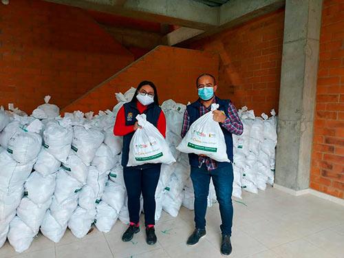 Avanza entrega de kits de asistencia alimentaria, gracias a recursos propios de la Gobernación del Cauca