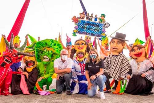Popayán vive los Carnavales de Pubenza 2021