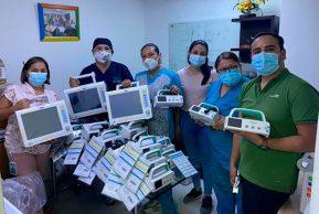 Llegan al Cauca equipos biomédicos para ampliar las UCI y darle atención a la pandemia
