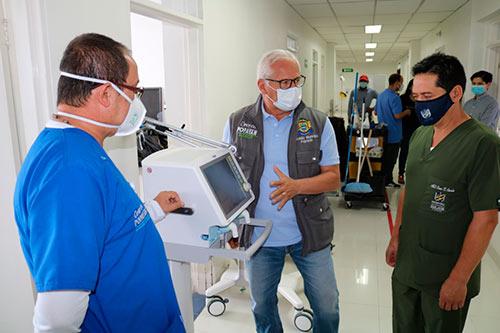 Hospital San José recibe nuevos insumos para atender la emergencia