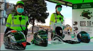 Nuevas disposiciones para uso correcto del casco para motociclistas