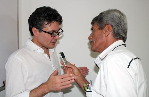 Exministro Alejandro Gaviria - Periodista Alfonso Luna Geller