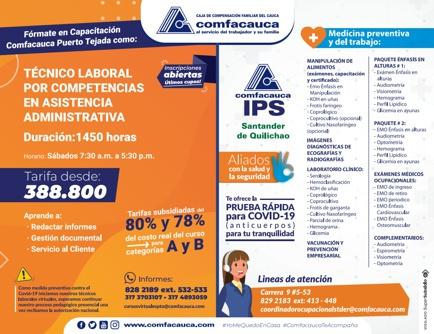 Capacitación Comfacauca - Puerto Tejada