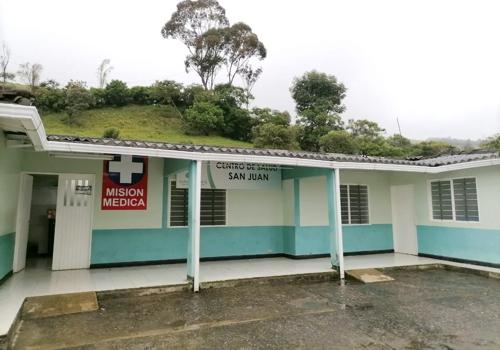 Mejoramiento Centro de Salud San Juan - ESE Suroccidente