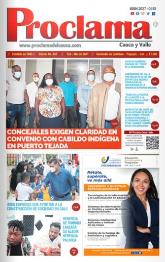 Edición Impresa No. 432 de Proclama Cauca y Valle