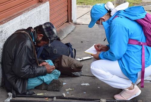 Los habitantes de calle están en el plan de vacunación