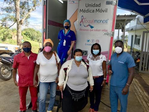 Mamografías y brigadas de salud brinda la ESE Norte 1 en Cauca