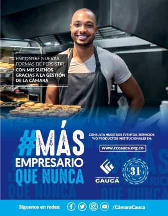 Más empresario que nunca - Cámara de Comercio del Cauca